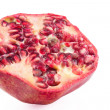 Pomegranate cross section — Stock Photo #38377127