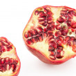 Pomegranate cross section — Stock Photo #38377521