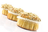 Spelt muffins with sesame and grains — Foto de Stock