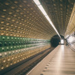 Subway in Prague — Stock Photo