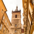 Tower in Prague city — Stock Photo