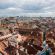 Panorama of Prague city — Stock Photo
