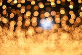 Złote tło uroczysty boże narodzenie — Zdjęcie stockowe