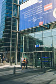 European Commission in Brussel, Belgium — Stock Photo