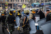 Protesters in Kiev — Stock Photo