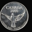 Canadian coin — Stock Photo