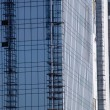 Office building under construction, Gurgaon — Foto Stock