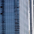 Office building under construction, Gurgaon — Stock Photo