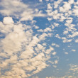 Clouds in the sky, Gurgaon, Haryana, India — Stock Photo