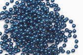 Collier de perles bleues — Photo