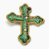 Gröna korset — Stockfoto