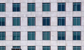 Windows of an office building, Gurgaon — Stock Photo