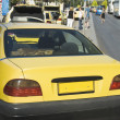 Stock Photo: Taxi at roadside, Athens