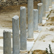 Stock Photo: Columns in courtyard
