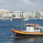 Barco no mar — Foto Stock