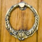 Details of a door knocker — Stock Photo