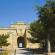 Stock Photo: Entrance of fort, Malta
