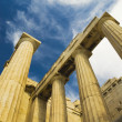 Ruins of ancient gateway, Propylaea — Stock Photo #32948625