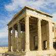 Ancient temple, The Erechtheum — Foto Stock