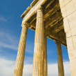 Ancient temple, The Erechtheum — Stock fotografie