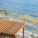 Tourist resort on the beach — Stock Photo
