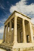 Ancient temple, The Erechtheum — Stock Photo