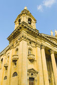 Igreja, valletta, malta — Foto Stock