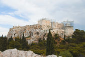 Citadel under renovation, Acropolis — Stock Photo