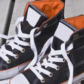 Plátno boty — Stock fotografie
