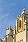 Niski kąt widzenia kościoła, kościół balluta — Zdjęcie stockowe