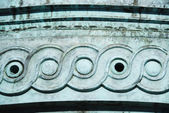 Details of carving on a structure — Stock Photo
