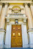 San lawrenz kilisesi — Stok fotoğraf