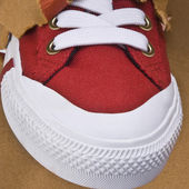 Canvas shoe — Stock Photo