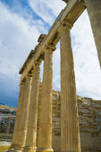 Colonnade, Acropolis — Stock Photo