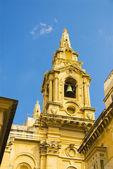 Kilise, valletta, malta — Stok fotoğraf