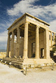 Ancient temple, The Erechtheum — Stock Photo