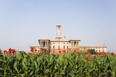 Government building, Mughal Garden — Stock Photo