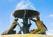 Triton Fountain — Stock Photo