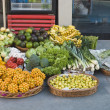 Stock fotografie: Fruits and vegetables for sale