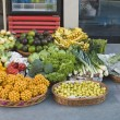 Foto de Stock  : Fruits and vegetables for sale