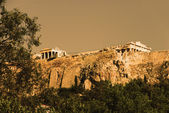 Ruins of a citadel, Acropolis — Stock Photo