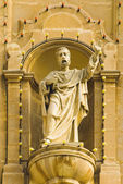 Statue in Msida Parish Church — Stock Photo