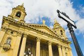 教会,瓦莱塔,马耳他 — 图库照片