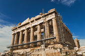 Ancient temple under renovation, Parthenon — Stock Photo