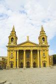 Fassade einer kirche — Stockfoto