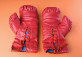 Pair of boxing gloves — Zdjęcie stockowe