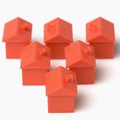 Model houses — Stock Photo