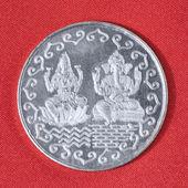 Gümüş sikke — Stok fotoğraf