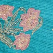 Stock Photo: Embroidery on piece of cloth