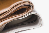Newspapers bundle — Stock Photo
